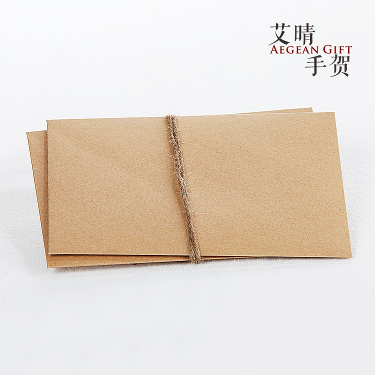Orders over 250000 Dongshipments\n[12.5x17.5cm] retro super thick kraft paper en