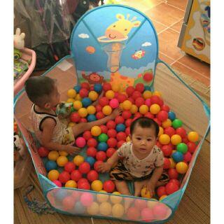 Nhà banh cho bé hàng loại 1 – Tặng kèm 100 quả banh hàng Việt Nam