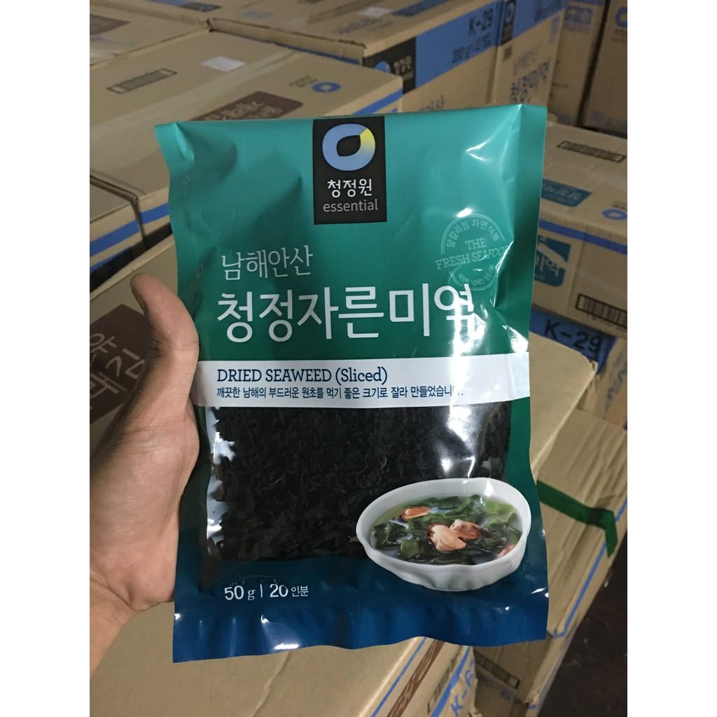 Rong biển Daesang khô nấu canh Hàn Quốc 50gr - 13670373 , 1425976171 , 322_1425976171 , 45000 , Rong-bien-Daesang-kho-nau-canh-Han-Quoc-50gr-322_1425976171 , shopee.vn , Rong biển Daesang khô nấu canh Hàn Quốc 50gr