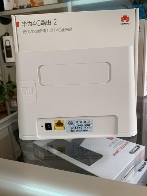 [Mã 267ELSALE hoàn 7% đơn 300K] Phát wifi 4G cắm điện Huawei B311( kèm anten)