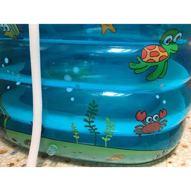 Bể bơi Thông minh 4 tầng tiện lợi + Tặng 1 phao đỡ cổ chính hãng