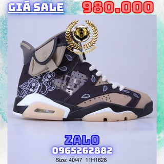 Giày Outlet Sneaker _Travis Scott x Air Jordan 6 TS MSP PHONG CÁCH ORDER + FREESHIP gaubeostore.shop thumbnail