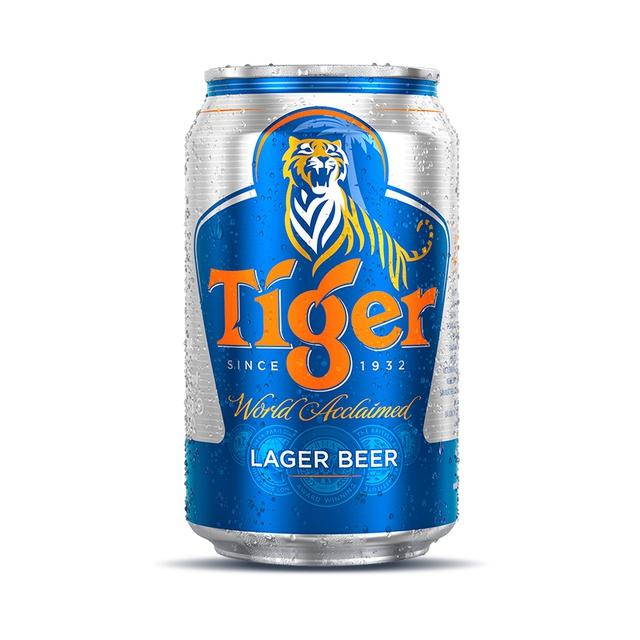 [Mã FMCGMALL giảm 8% Tối đa 80K đơn 250K] Thùng bia Tiger 24 lon 330ml/lon