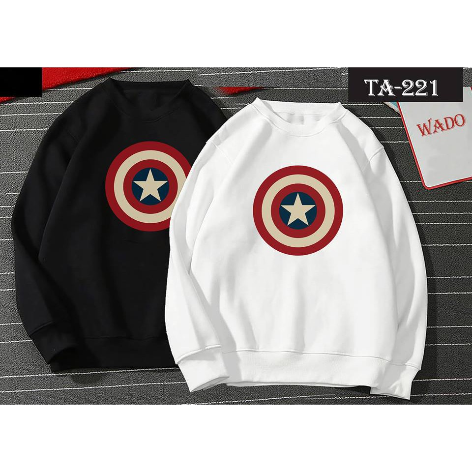 [RẺ VÔ ĐỊCH] Áo sweater Captain America