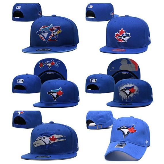 Mũ lưỡi trai MLB màu xanh dương in hình chim