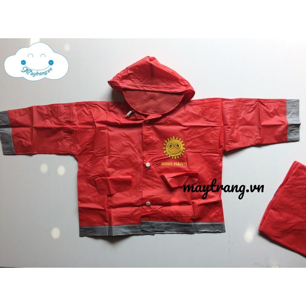 Combo 10 bộ áo mưa nhựa dành em bé đ