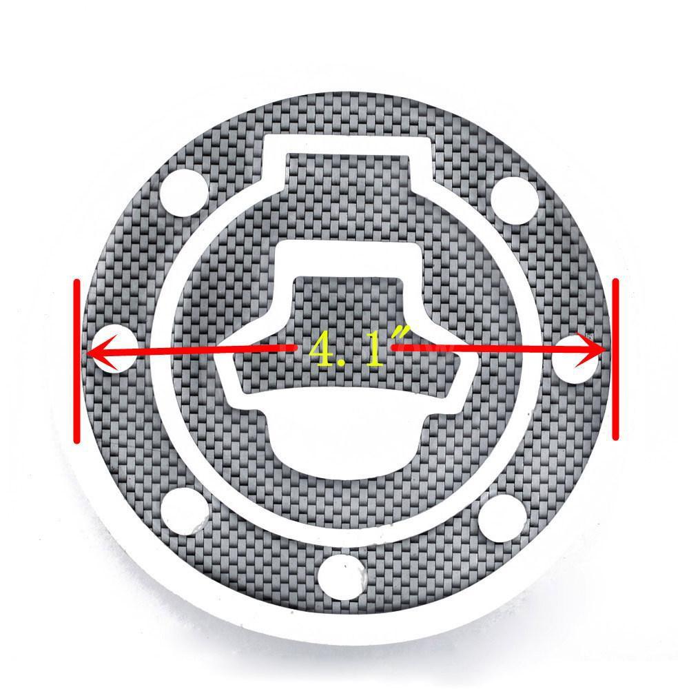 Tsm New Carbon-Look Fuel / Gas Cap Cover Pad Sticker For Suzuki Katana GSX 600F 750F R 600 750