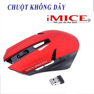 ⭐ Chuột không dây máy tính Imice E1700 Pro hàng bảo hành chính hãng ⭐ siêu nhanh nhay, kiểu dáng hầm hố ⭐ Freeship