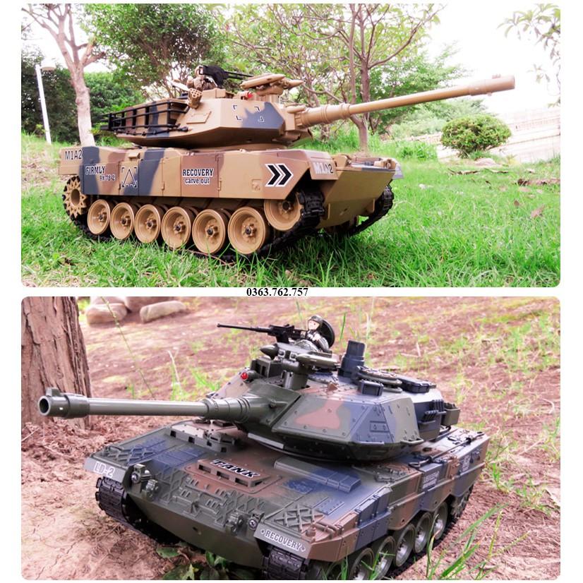 Xe tăng điểu khiển M1A2, T-90, Leopard 2A6, Tiger
