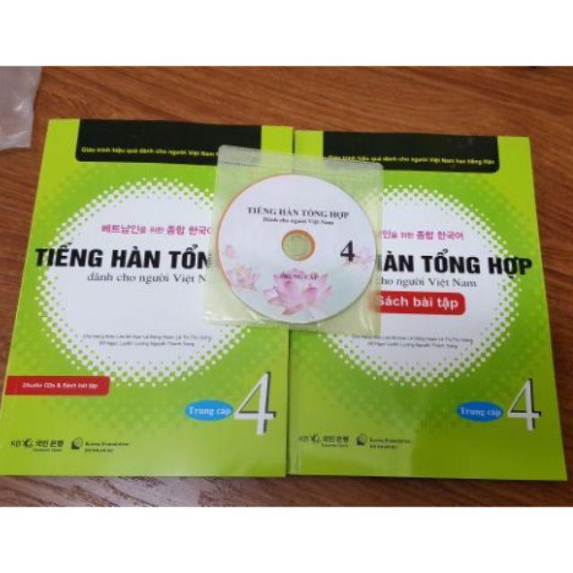 Sách Tập 4 Tiếng hàn tổng hợp dành cho người Việt Nam (1sach +1 bài tập + kèm CD) - 2496945 , 874753189 , 322_874753189 , 170000 , Sach-Tap-4-Tieng-han-tong-hop-danh-cho-nguoi-Viet-Nam-1sach-1-bai-tap-kem-CD-322_874753189 , shopee.vn , Sách Tập 4 Tiếng hàn tổng hợp dành cho người Việt Nam (1sach +1 bài tập + kèm CD)