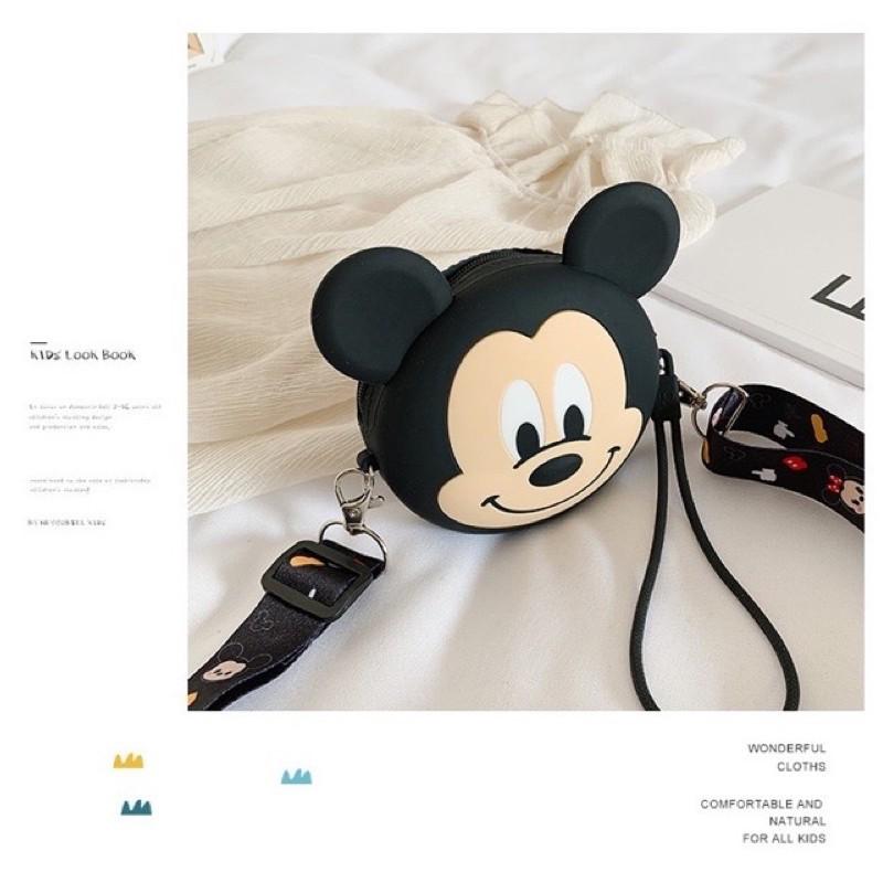 Túi Đeo Chéo Mickey Cho Mẹ Và Bé Cực Kì Đăng Yêu Mùa Hè 2020