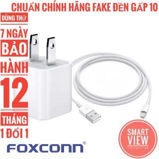 (SMV01 & SMV02) Bộ Sạc Cáp Iphone Cổng Lightning Chính Hãng Foxconn