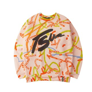 Áo Sweater TSUN Sprinkle - Hồng - Unisex thumbnail