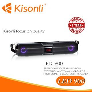 [BH 12 Tháng] Loa Kisonli Bluetooth LED-900 --- Có giá đỡ điện thoại