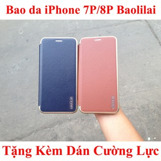 Bao da iPhone 7 Plus/8 Plus cao cấp, có ngăn đựng thẻ ATM