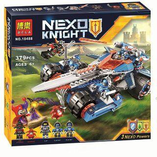 Lego Nexo Knights 10488 Phi cơ kiếm của Clay