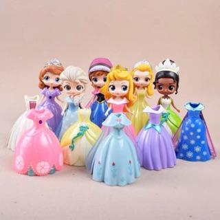 💕💕 Set 6 Nàng Công Chúa Disney kèm Đầm 💕💕 Elsa + Anna + Sophia + Adora + Rapunzel + Aurora … 💕💕