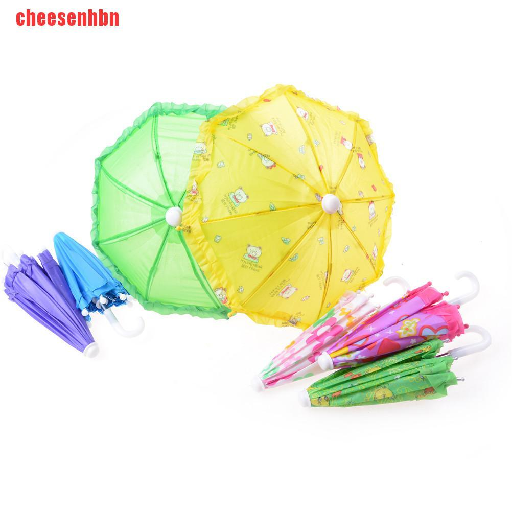 [cheesenhbn]BJD Doll Accessories Umbrella for 16 Inch and 18 Inch Doll Toy for Girls Christm