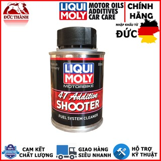 Dung dịch vệ sinh máy Carbon Cleaner Liqui Moly 4T Additive Shooter 7916 80ml ducthanhauto