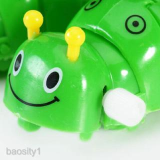 2Pcs Children Indoor Party Playing Wind Up Caterpillar & Butterfly Clockwork