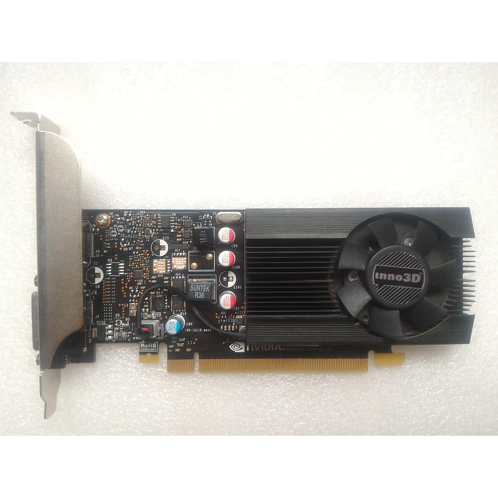Card màn hình Inno3D GeForce GT 1030 low profile 2GB GDDR5 (N1030-1DDV-E5BL)