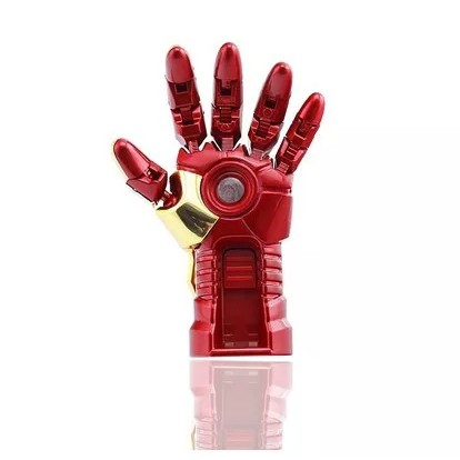 Marvel Avengers Iron Man Hand USB Flash Drive 256GB Pendrive Thumbdrive Giá chỉ 535.000₫