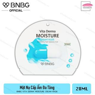 Mặt Nạ Kem Cấp Ẩm Dưỡng Da BNBG Vita Derma Moisture Cream Mask 28ml - HAFA STORE