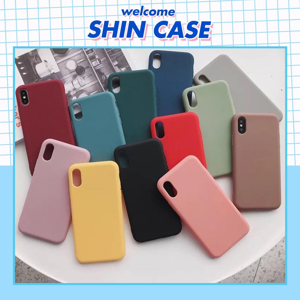 Ốp lưng iphone TRƠN DẺO 8 MÀU 5/5s/6/6plus/6s/6s plus/6/7/7plus/8/8plus/x/xs/xs max/11/11 pro/11 promax – Shin Case