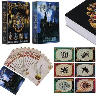 Bộ bài Poker Harry Potter làm từ nhựa