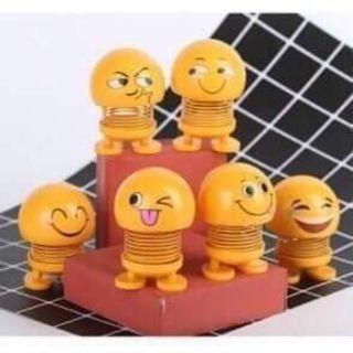 Set 3 con Emoji lò xo nhún nhẩy