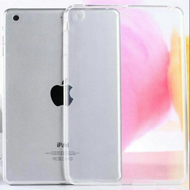 Ốp Lưng Silicon Dẻo Trong Suốt iPad 2/3/4/Air 1/Air2/pro10.5/11inch/12.9 (2017)/12.9 (2018)/9.7