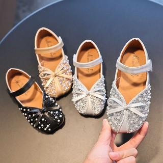 Giày Búp Bê Bé Gái,Giày Búp Bê Công Chúa Đính Ngọc Kim Sa Siêu Xinh Cho Bé Gái thumbnail