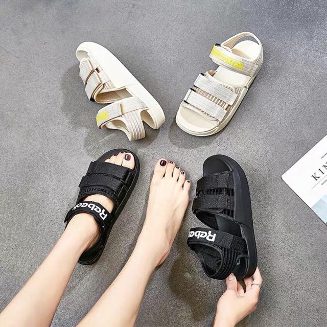 Sandal nữ REE Ullzang hàn quốc [ Xả màu đen 35 60k