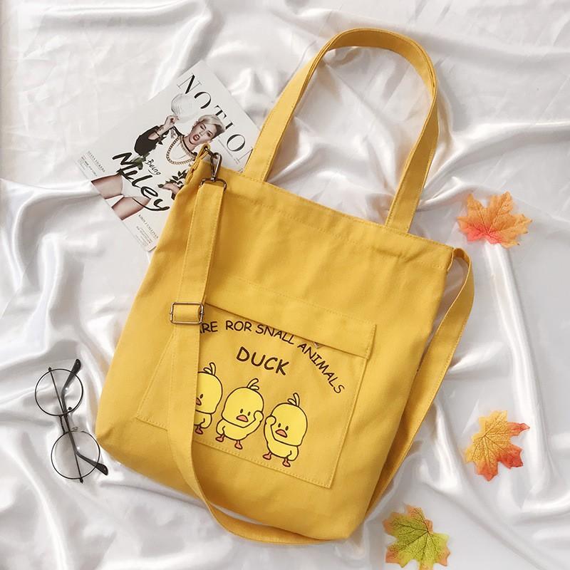 Hình ảnh Túi Vải Đeo Chéo Tote Thời Trang Vit XinhStore-0