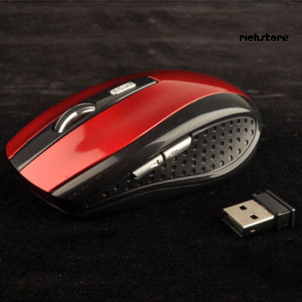 Chuột Quang Không Dây 2.4ghz 1200dpi Cho Pc Laptop