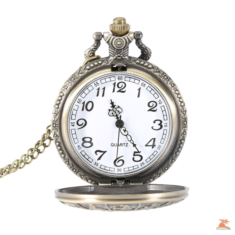 #Đồng hồ bỏ túi# Vintage Steampunk Constellation Zodiac Pocket Watch Dial 4.7cm Pendant Necklace Chain Clock