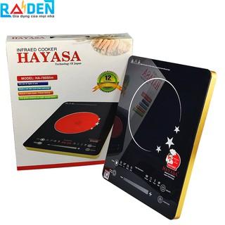 Bếp điện hồng ngoại 2 vòng nhiệt Hayasa - HA-780 Slim với điều khiển cảm ứng thông minh, có thể chỉnh vòng nhiệt