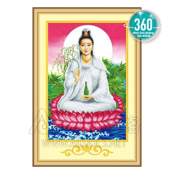 Tranh đá Phật quan âm 77198