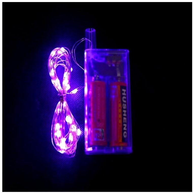 Dây đèn Led ,dây đèn đom đóm 3 mét dùng pin