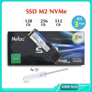 [Mã ELMSBC giảm 8% đơn 300K] Ổ cứng SSD M2 NVMe Netac N930E PRO 128Gb 256Gb 512Gb M.2 2280 PCIe chính hãng