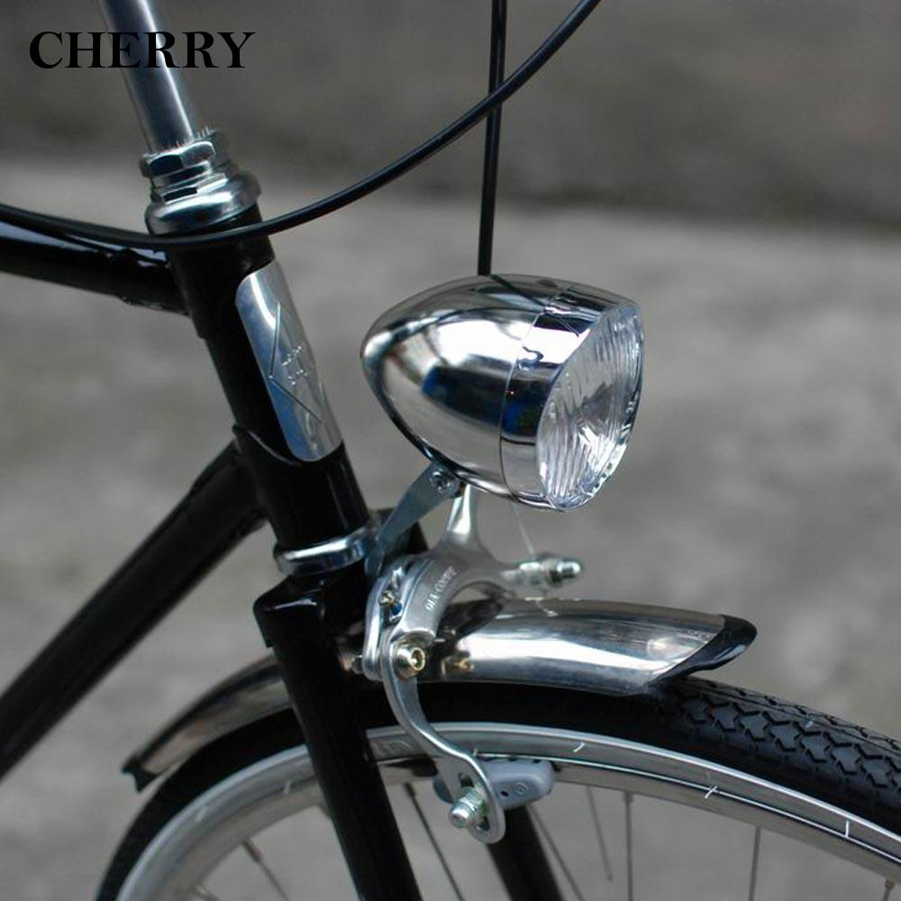 e7a9bf4636c Vintage Retro Bicycle Bike 3 LED Front Light Lamp Headlight Headlamp +  Delicate