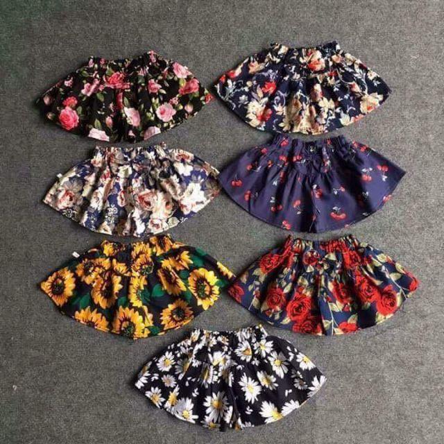 Quần váy cho bé loại đẹp(6_14kg)