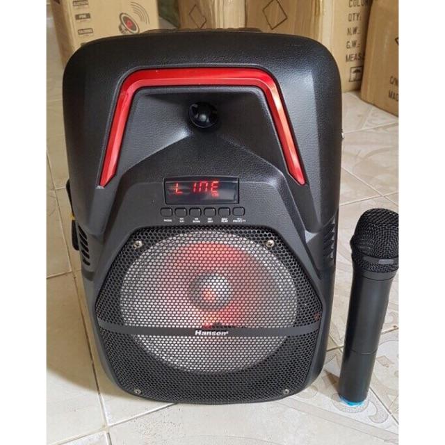 Loa karaoke di động HanSen FY-8 Hàng nhập khẩu - tặng micro không dây