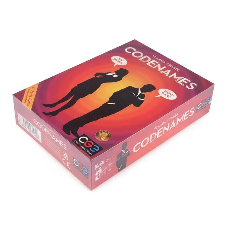 Codenames Board Game ALL NEW Party Game Word Game Family Party Card Game Ready Stock