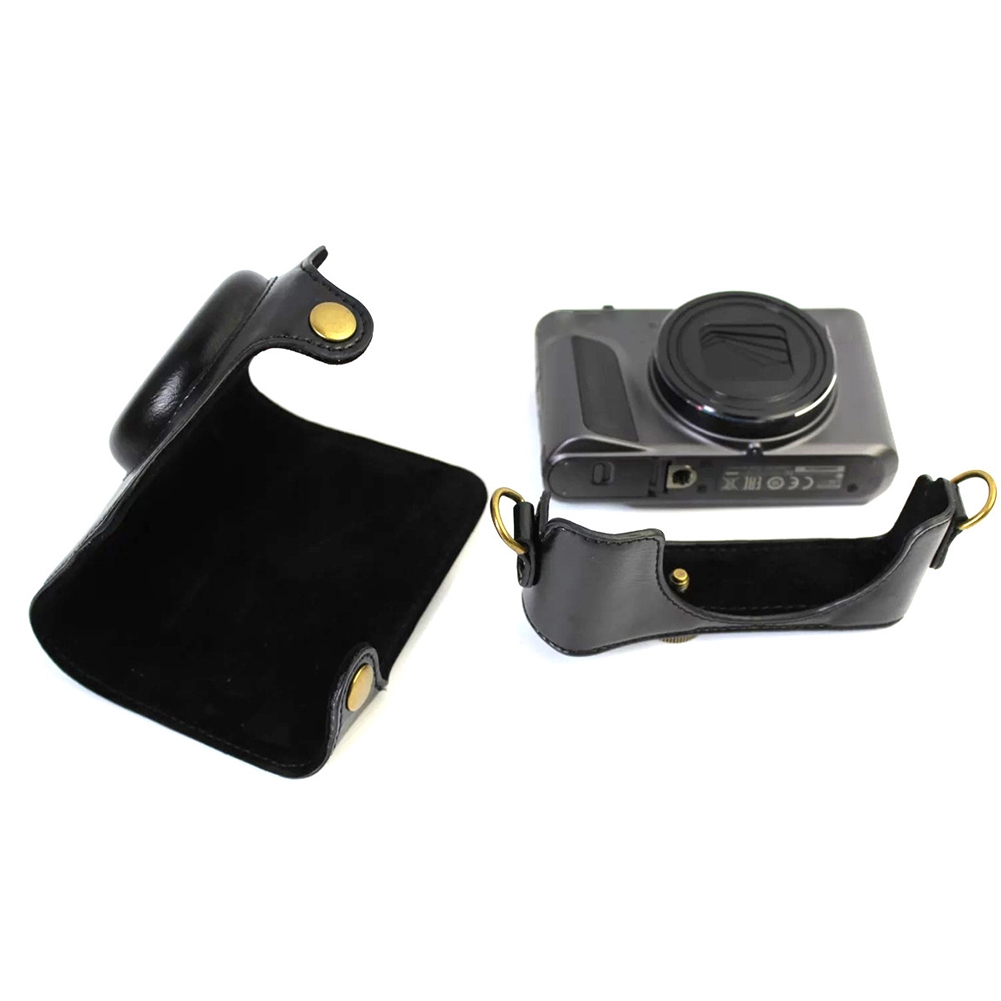 Durable Fashion Shockproof Protective Anti-scratch Camera Bag Cover Solid PU Leather For Canon SX720 HS