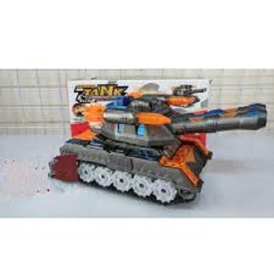 Đồ chơi xe tăng dùng pin có đèn nhạc, đồ chơi xe tăng