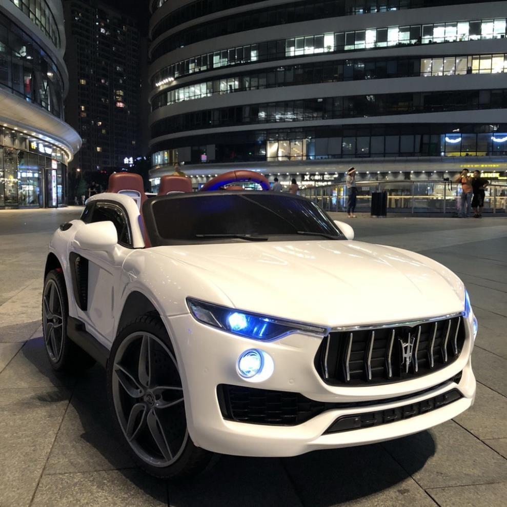 [Siêu] [HOT] Ô tô xe điện đồ chơi vận động cho bé KUPAI 2021 4 động cơ