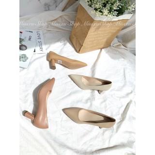Giày mũi vuông gót dẹp 5 cm Myss - CG173 thumbnail