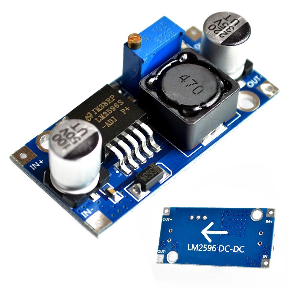 5×DC-DC Buck Voltmeter Converter Adjustable Step Down Module