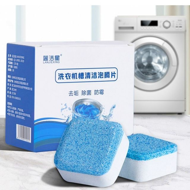 Combo 3 viên tẩy lồng máy giặt